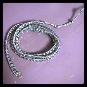 Lizou disco ball wrap bracelet
